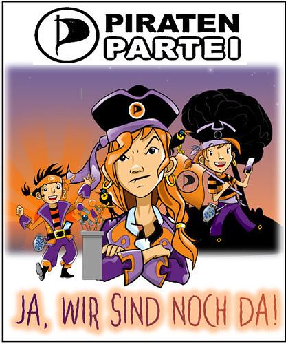 Gesicht der Piraten
