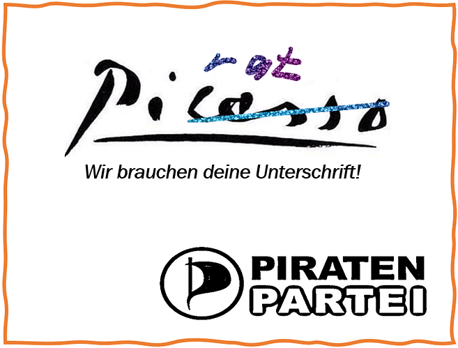 Piratenunterschrift 2
