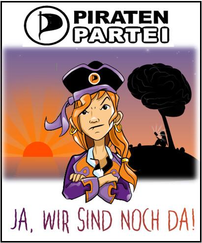 Gesicht der Piraten 2